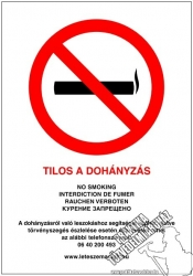 EJ19/1 – No smoking!- Sticker-A/4