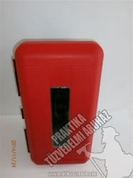 0013 – Plastic box for 6 kg powder extinguisher