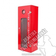 0014 - Metal box for 12 kg powder extinguisher