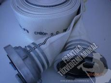 0025C - Tűzoltó szivattyú tömlő A110mm, 15 bar