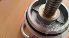 0041b - C52 Fali tűzcsap szelep. Alumínium