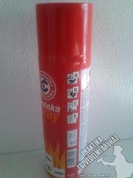 0001D Tűzoltó Spray 500 ml A, B, C, E tűzosztályokra