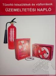 5556 - Tűzoltó készülékek és vízforrások üzemeltetési napló