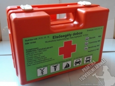 104 A - First aid kit, medicine chest, set, up to 15 people