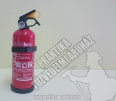0001Ó- Ogniochron Manometer 1 kg powder extinguisher ABC powderextinguisher 8A 34BC fire rating