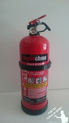 0002Ó Ogniochron Manometer 2 kg powder extinguisher ABC powderextinguisher 13A 89BC fire rating