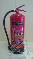 0009Ó- Ogniochron 9 kg powder extinguisher ABC powderextinguisher 55A 233BC fire rating