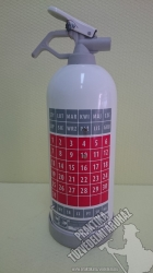 0111Ó- Ogniochron Calendar, Design 1 kg powder extinguisher ABC powderextinguisher