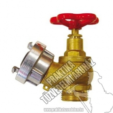 0042 - Brass valve D25 (Diameter 25 mm)