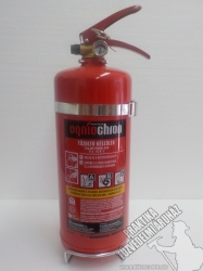 0003Ó Ogniochron Manometer 3 kg powder extinguisher ABC powderextinguisher 21A 113BC fire rating