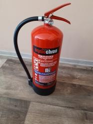 0006ÓV Ogniochron Manometer 6 liter water extinguisher 13 A fire rating waterextinguisher