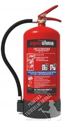 0006ÓVF Ogniochron Manometer 6 liter water mist extinguisher 13 A 25 F fire rating watermistextinguisher