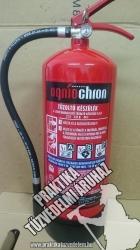 0006ÓHF Ogniochron Manometer 6 liter foam extinguisher 21 A 233 B 40 F fire rating foamextinguisher