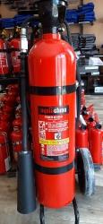 0020Ó Ogniochron 20 kg fire extinguisher Carbon dioxide extinguisher Carbondioxide extinguisher CO2 89 B fire rating