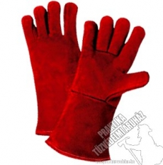 SR301- Leather weldinggloves, welding gloves with lining