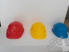 01- Safety helmet yellow, blue, red, white, green, orange