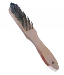SNASZCZD5 – Wire brush, 5 rows, wooden handle
