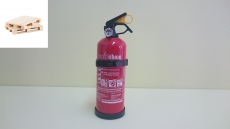0111Ó- Ogniochron Manometer 1 kg powder extinguisher ABC powderextinguisher 8A 24BC fire rating