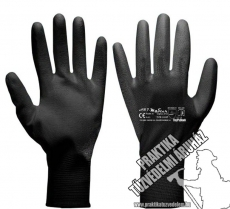 ARNYPUBLAC – Black nylon dipped mechanic gloves, work safety gloves