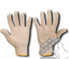 ARDZIAN – Knitted, Cotton, White thread gloves