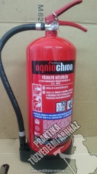 0006ÓH Ogniochron Manometer 6 liter foam extinguisher 21 A 183 B fire rating foamextinguisher