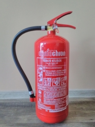 0006F Ogniochron 6 kg powder extinguisher ABC powderextinguisher 34A 233BC fire rating without bracket