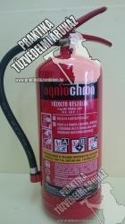 0006ÓR -Ogniochron 6 kg powder extinguisher ABC fire extinguisher powderextinguisher 43A 233BC increased fire rating