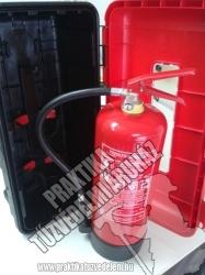 TSZ6 - TGK 6kg SZETT Tehergépkocsi tűzoltó csomag
